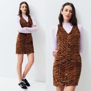 Minkpink Wild Woman Cord Dress